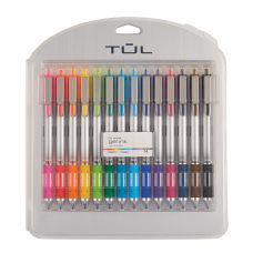 TUL Retractable Gel Pens Bold Point