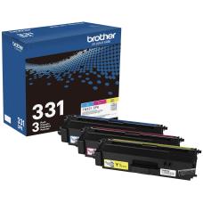 Brother TN331 Genuine Color Toner Cartridges