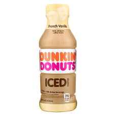 Dunkin Donuts Iced Coffee French Vanilla