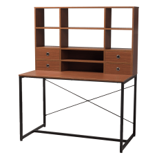 Baxton Studio Dilara Writing Desk Brown