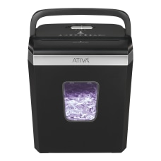Ativa 6 Sheet Cross Cut Shredder