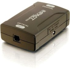C2G Coaxial to TOSLINK Optical Digital