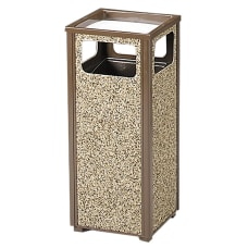 United Receptacle Sand Urn Rectangular Steel