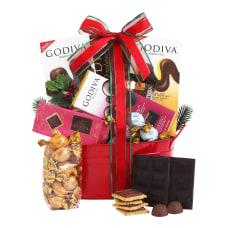 Givens Godiva Holiday Gift Tin