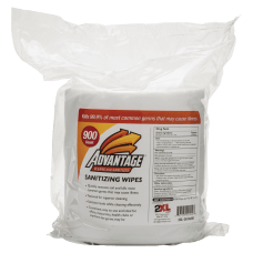 Advantage 2XL Sanitizing Wipes Unscented Pack
