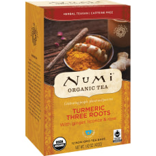 Numi Turmeric Organic Tea Licorice Spicy
