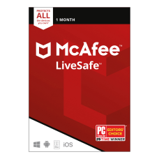 McAfee LiveSafe AntiVirus Software Unlimited Devices