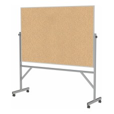 Ghent Reversible Natural Cork Bulletin Board