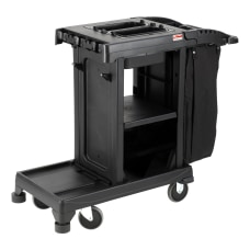 Suncast Commercial Resin Cleaning Cart Compact
