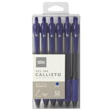 Office Depot Brand Callisto Retractable Gel