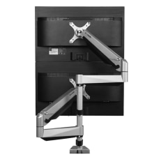 Loctek Vertical Dual Monitor Mount for