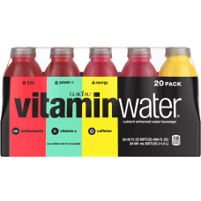 Vitaminwater Electrolyte Enhanced Water Variety Pack