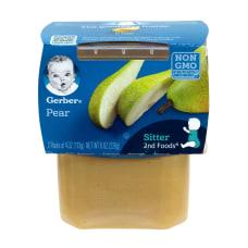 Gerber 2nd Foods Pear Baby Food