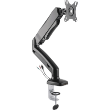 Lorell 2 Section Single Arm Monitor