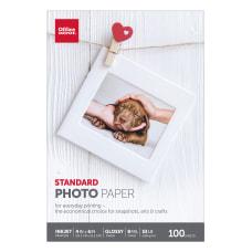 Office Depot Brand Standard Photo Paper