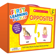 Scholastic First Learning Opposites Puzzles Pre
