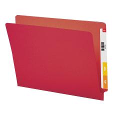 Smead Color End Tab Folders Straight