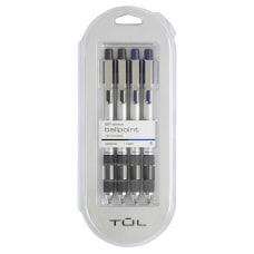 TUL Retractable Ballpoint Pens Medium Point