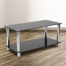 Flash Furniture Coffee Table With Shelf