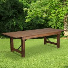 Flash Furniture Pine Folding Farm Table