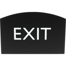 Lorell Exit Sign 1 Each 45