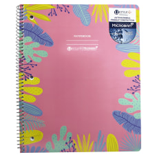 U Style Antimicrobial Notebook With Microban