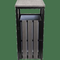 Lorell Outdoor Waste Bin Rectangular Weather
