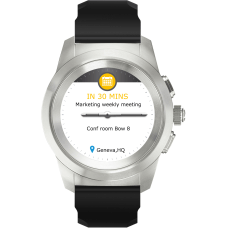MyKronoz ZeTime Original Hybrid Smartwatch Petite