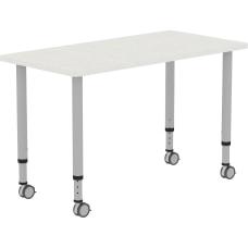 Lorell Height adjustable 48 Rectangular Table