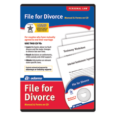 Adams File For Divorce