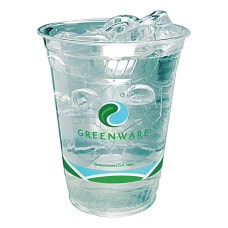 Fabri Kal Greenware Cold Drink Cups