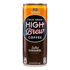 High Brew Salted Caramel Cold Brew