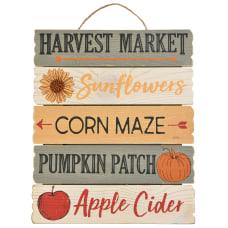 Amscan Fall Harvest Market Hanging Slatted