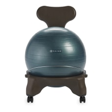 Gaiam Balance Ball Chair Forest Green