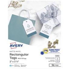 Avery Printable 2 Sided Printing Tags