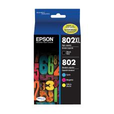 Epson 802XL802 DuraBrite High Yield Black