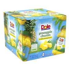 Dole Pineapple Chunks in 100percent Juice