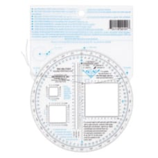 D B Military Round Protractor