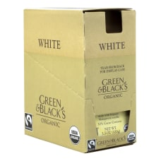 Green Blacks Organic White Chocolate with