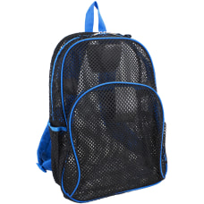 Eastsport Sport Mesh Backpack BlackRoyal Blue