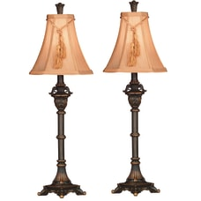Kenroy Rowan Buffet Lamps Metallic BronzeButterscotch