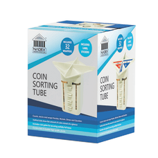 Nadex Manual Coin Sorting Tube Beige