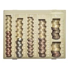 Nadex Coin Organizer Tray Beige