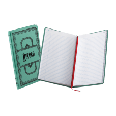 Boorum Pease Canvas Account Book Record