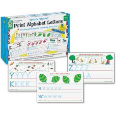 Key Education Write OnWipe Off Print
