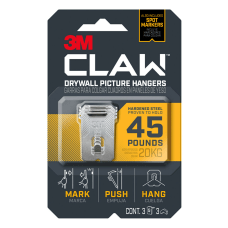 3M CLAW Drywall Picture Hangers With
