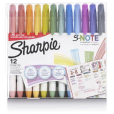 Sharpie S Note Highlighters Chisel Tip