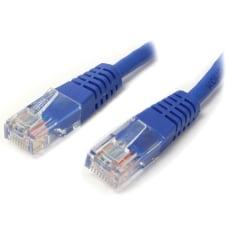 StarTechcom 50ft Blue Molded Cat5e UTP