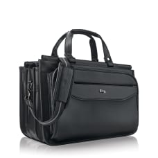 Solo Harrison Triple Compartment Briefcase For