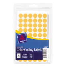 Avery Round Color Coding Labels 12